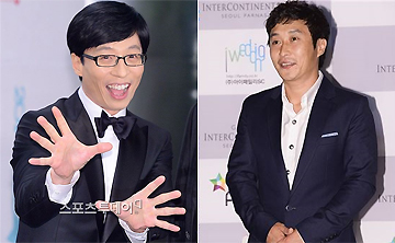 'SBS 연예대상', '지상파 3관왕' 유재석 VS '2년 연속' 김병만…주인공은?