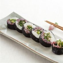 「오늘의 레시피」모자이크 냉이김밥