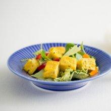 간단하지만 균형 잡힌 영양 혼밥, 달걀말이 샐러드