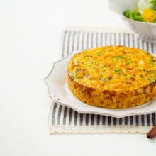 「오늘의 레시피」 마카로니 달걀 케이크