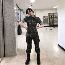 '진짜사나이 300' 이유비, 군복
