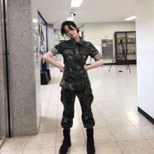 '진짜 사나이 300' 이유비, 군복