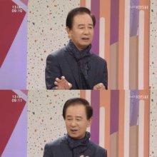 """'아침마당' 김홍신 """"어릴 적 건달 두목했었다…기찻길서 담력테스트 하기도"""""""