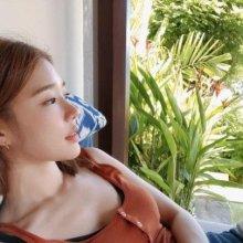 [포토] 유인나 '발리에서 화보같은 일상'