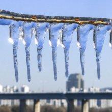 [포토]얼어붙은 도심