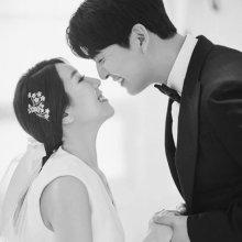 [#스타샷] '연애의 맛' 서수연♥이필모 웨딩 사진 공개