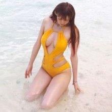 BJ유요, 수영복 입고 완벽한 몸매 자랑