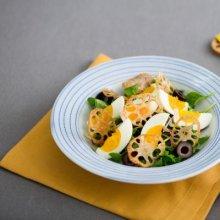 「오늘의 레시피」 연근칩 달걀 샐러드
