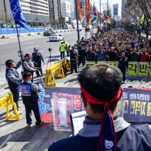대우조선해양 노동자, 서울 상경 집회
