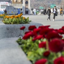 꽃샘 추위 이어지는 서울