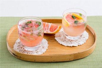 「오늘의 레시피」딸기 모히토&자몽 모히토