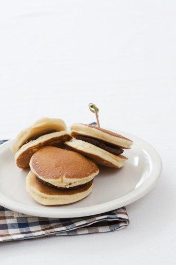 「오늘의 레시피」팥을 넣은 우유 팬케이크
