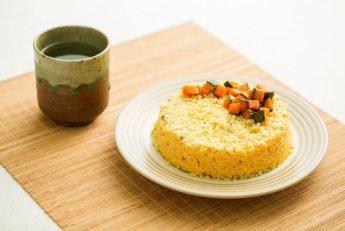 「오늘의 레시피」호박설기 케이크