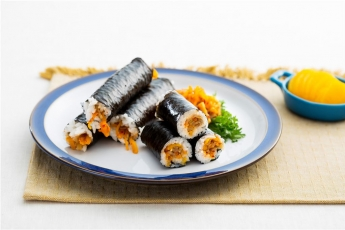 「오늘의 레시피」청도김밥