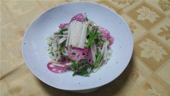 숙주의 아삭한 맛과 식초를 넣은 산뜻한 초나물 봄요리 '숙주채'
