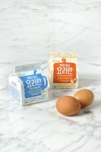 우유팩에 달걀이?  '요리란'