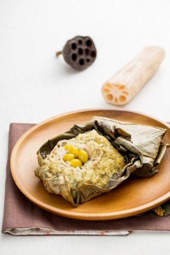 「오늘의 레시피」 연잎밥