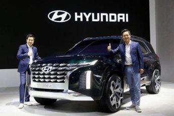 현대차, 대형 SUV 콘셉트카 'HDC-2 그랜드마스터 콘셉트' 공개