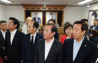 한국당, TK 돌며 집토끼 챙기기…박정희 생가도 찾아