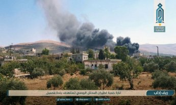 시리아軍, 이스라엘에 반격하다 동맹국 러시아 항공기 격추시켜