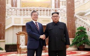 [평양회담]남북정상, 첫날 2시간 '비핵화 담판'(종합)