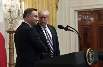"""트럼프 """"폴란드 요청한 미군 영구 주둔 심각하게 검토중"""""""