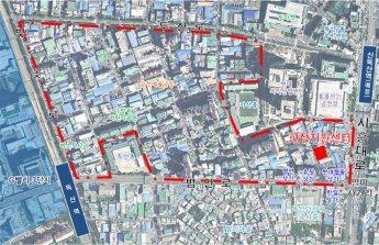 금천구 독산동 우시장 일대 도시재생 계속 추진