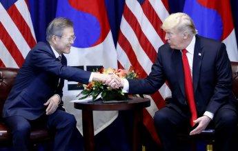 """트럼프 """"2차북미회담, 멀지 않은 미래에 개최…곧 시간·장소 발표""""(종합)"""