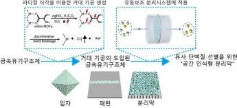 국내연구진, 유사 단백질 선별 신소재 분리막 개발