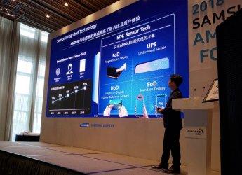 삼성디스플레이, 중국서 '2018 삼성 OLED 포럼' 개최