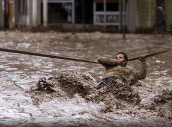 요르단 갑작스런 홍수에 물난리...사막에서 어떻게 홍수가 날까?