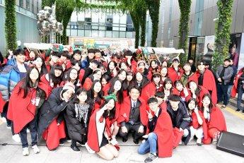 [포토]오승록 노원구청장 '노원 청소년 아티스트 장터' 참석