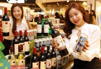 [포토]해외 맥주·와인 최대 70% 할인해요