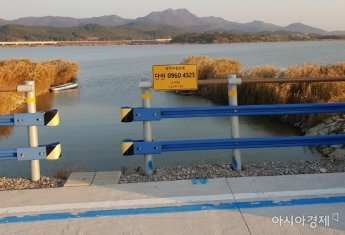 무안군, 영산강변 자전거도로에 '국가지점번호판' 설치
