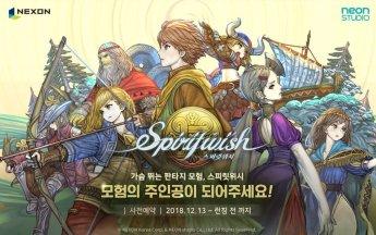 넥슨 모바일 MMORPG '스피릿위시' 사전예약 돌입