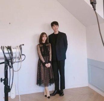 '열두밤' 한승연, 신현수와 함께 '찰칵' 설레는 키 차이 '심쿵'