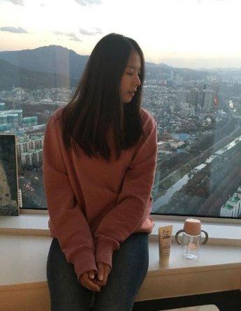'이동건♥' 조윤희 셀카, 아름다운 옆모습 '분위기 여신'