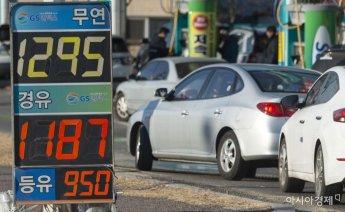 기름값 하락세 멈췄나…전국 휘발유 15주만에 상승