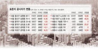 [공시가격 논란] 같은 동네 '극과 극' 공시지가…16% 상승 vs 0.1% 하락