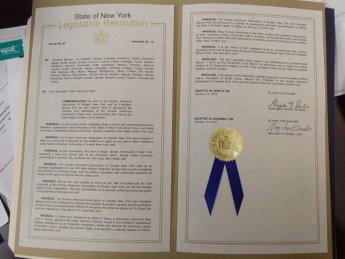 뉴욕주, 유관순 결의안 채택…'3·1운동의 날' 지정