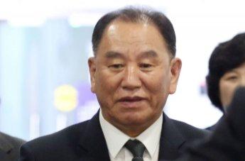 北김영철, 美항공사 보안검색에 '신경전'
