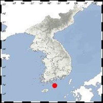 """여수시 거문도 동남동쪽 해역서 진도 2.7 지진…""""피해 없을 것"""""""
