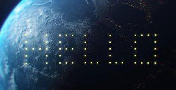초대형 광고판 우주 궤도로 쏘아 올린다