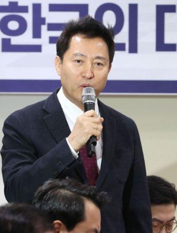 """오세훈 """"황교안 병역문제, 당원 투표로 판단받아야"""""""