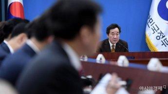 [포토] 현안점검조정회의 주재하는 이낙연 총리