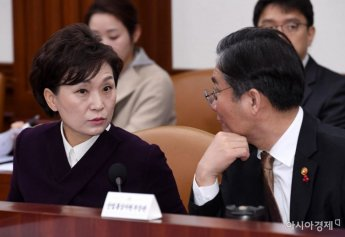 [포토] 대화하는 김현미-성윤모