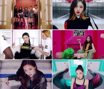 있지(ITZY), '달라달라' K팝 새역사…MV 최다 조회수 작성중
