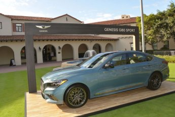 美 PGA투어 '제네시스 오픈' 개막…정의선과 우즈의 만남