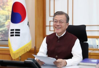 """文대통령 """"韓-인도 굳건한 우정…'아시아 시대' 중심에 두 나라 있을 것"""""""