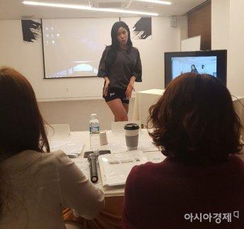 """[포토] ㈜바디디자인&엔터테인먼트 인필 참가자 """"여기가 자신있어요"""""""